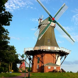 Greetsiel in Ostfriesland